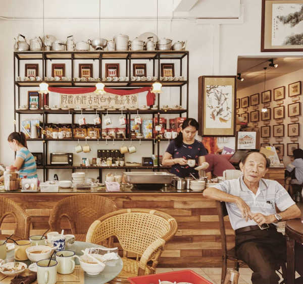 A Jié Cafe 阿洁白咖啡茶坊 in Ipoh