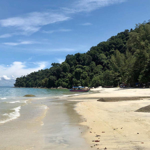 A Quiet Corner Of Monkey Beach In Penang National Park, Teluk Bahang