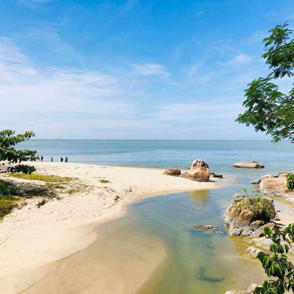 Beautiful Day At Pantai Keracut Of Penang National Park