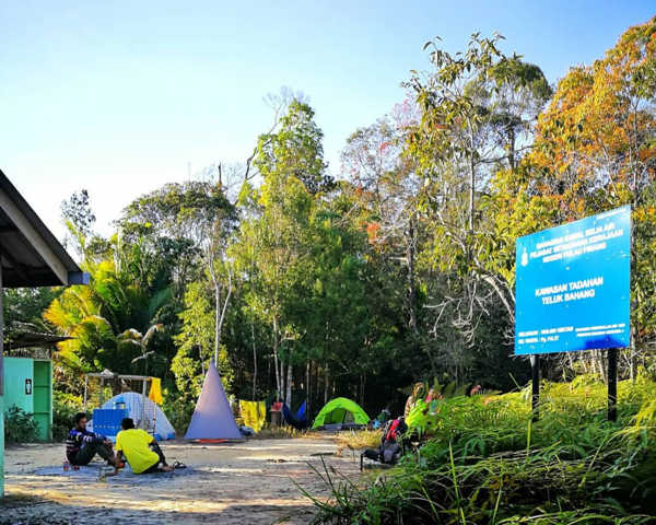 Bukit Batu Hitam Campsite At Penang National Park