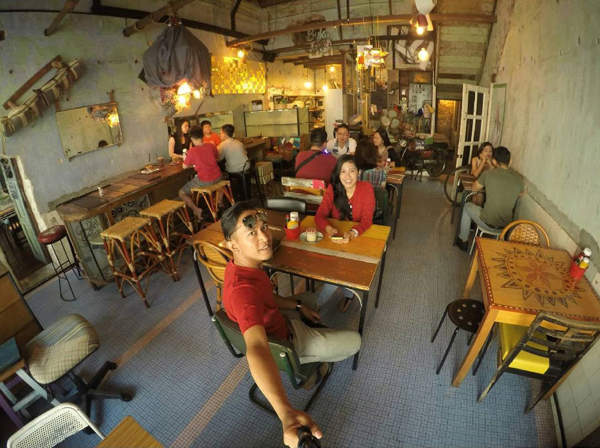 Burps & Giggles cafe in Ipoh