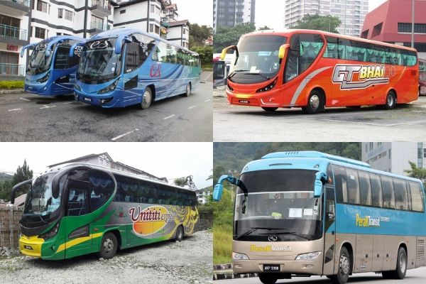 Bus Operators To Cameron Highlands From Ipoh