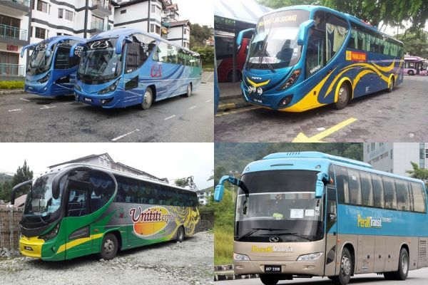 Bus Operators From Kuala Lumpur To Cameron Highlands
