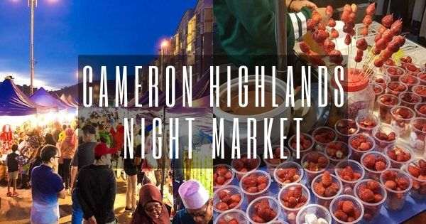 Cameron Highlands Night Market: Brinchang Market One-stop Guide (2021)