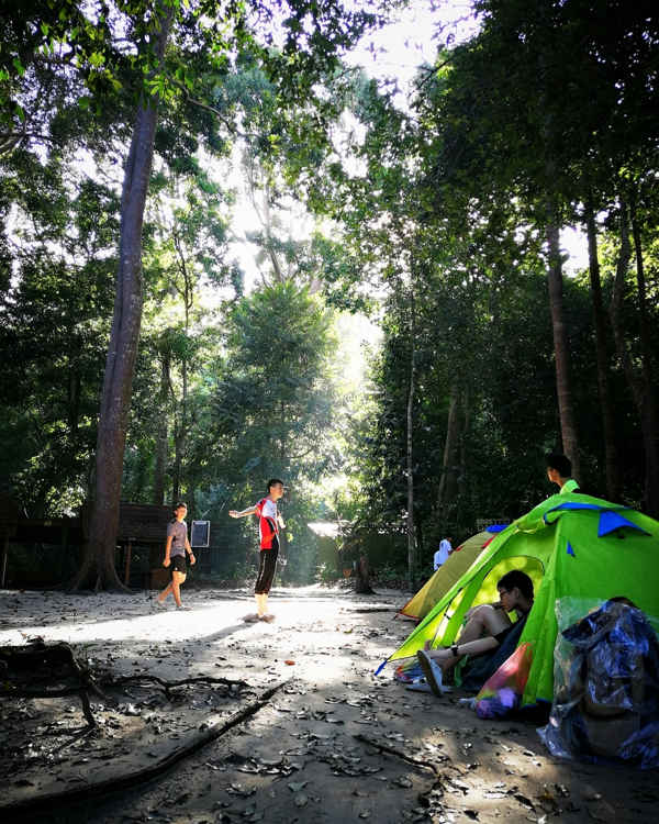 Camping At Penang National Park