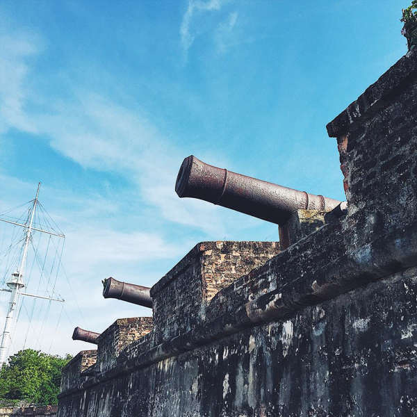 Cannons At Fort Cornwallis