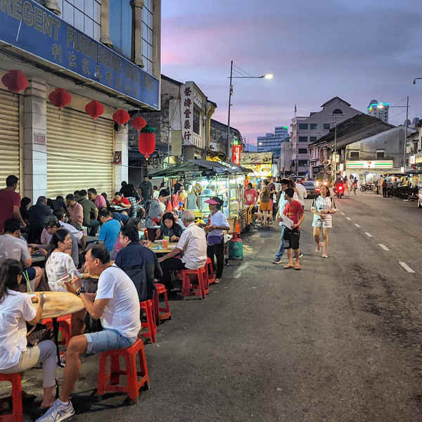 Chulia Street Night Hawker Stalls