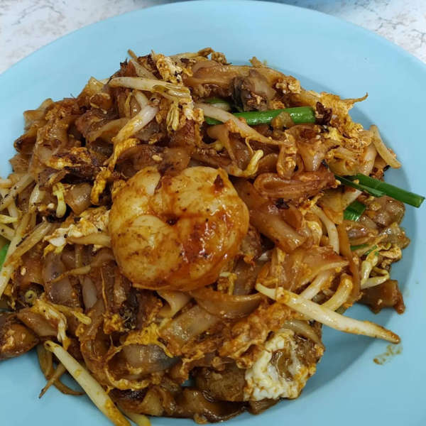 Close Up Of The Char Koay Teow From The Left-handed Char Koay Teow Stall