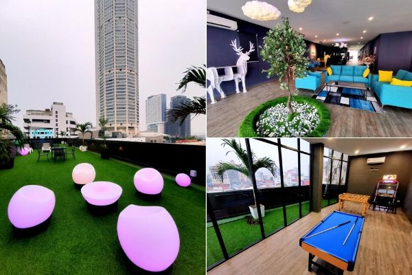 Common Recreational Spaces At WOW Hotel Penang