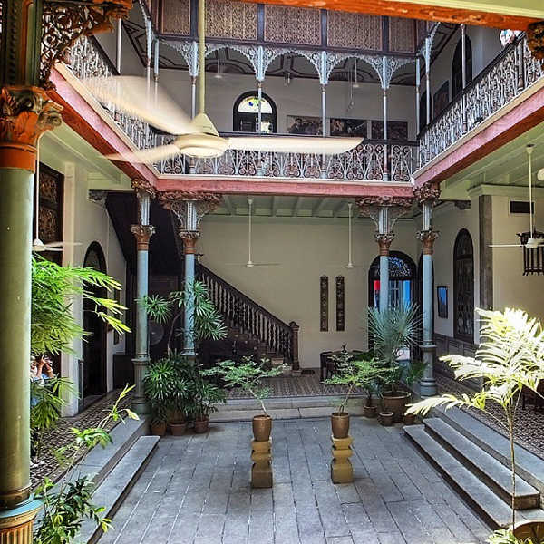 Courtyard At Cheong Fatt Tze Mansion