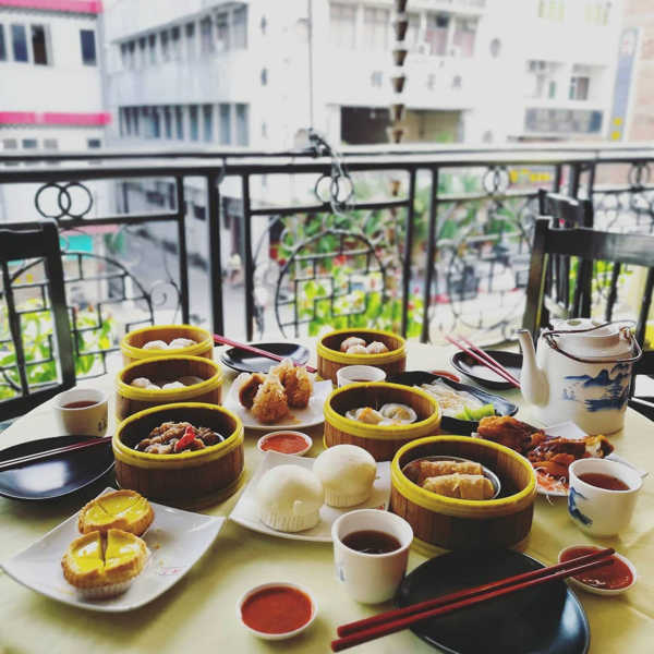 Dim sum with a view at Foh San dim sum restaurant
