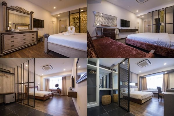 Elegant Rooms Of WiFi Boutique Hotel In Penang