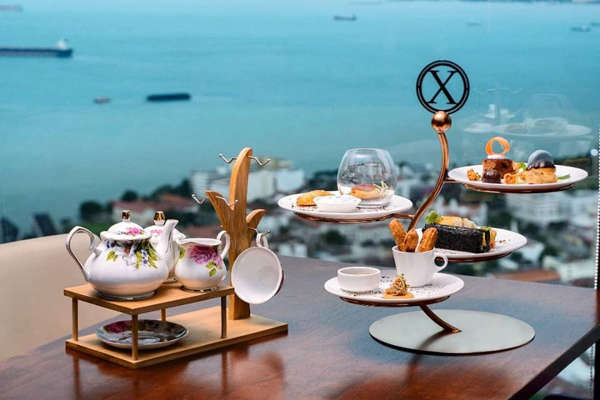 English Tea Set By The Top View Restaurant & Lounge