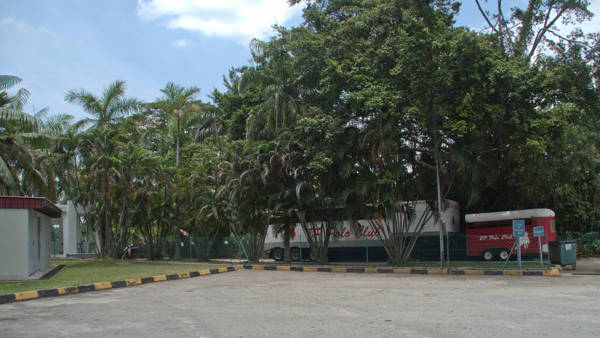 Entrance To Polo Club Beside Caltex Petrol Station