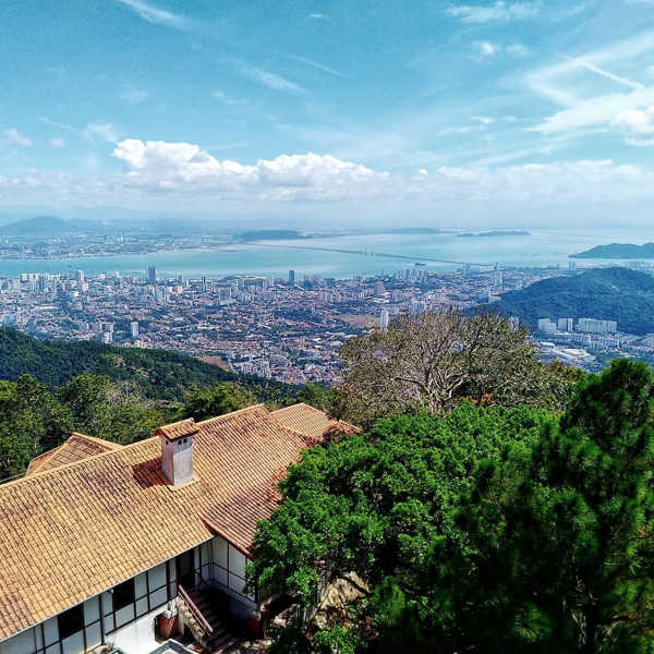 George Town Seen From Penang Hill