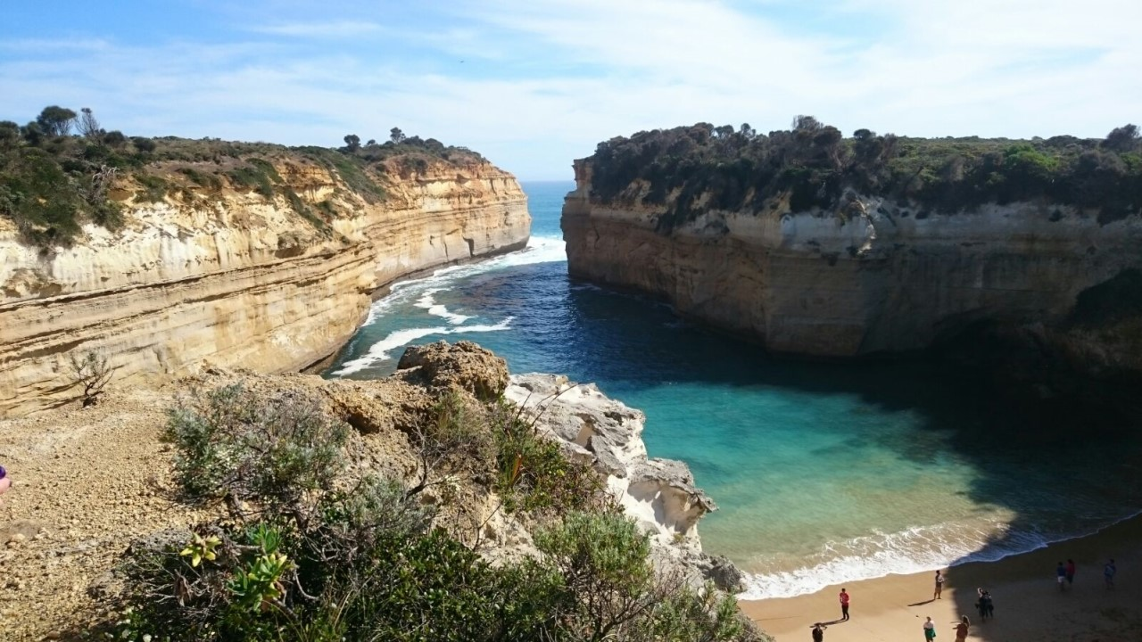 Mermaid Cove, Great Ocean Road route from Melbourne