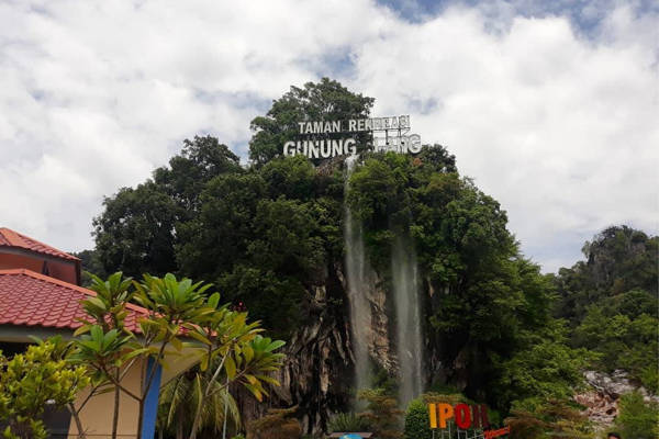 Gunung Lang Recreational Park in Ipoh