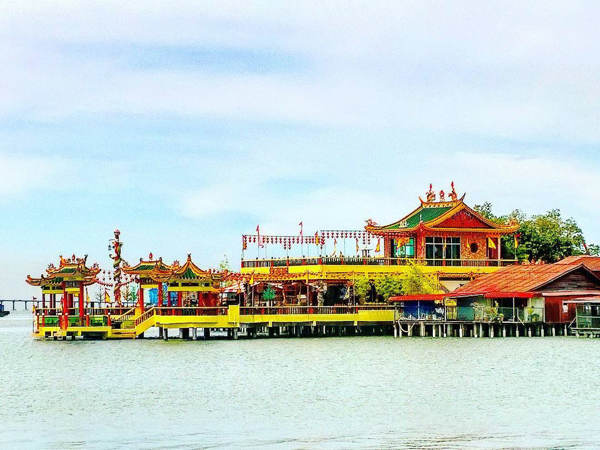 Hean Boo Thean Kuan Yin Temple Near Yeoh Jetty