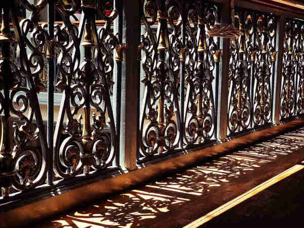 Impressive Scottish Inspired Iron Railings At Penang Peranakan Mansion