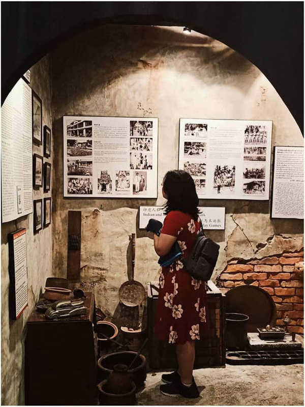 Inside The Penang Tunnel Museum