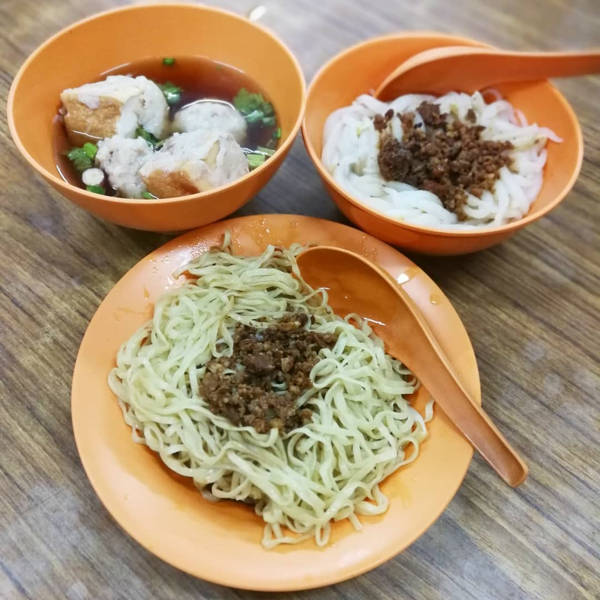 Delicious Hakka mee can be found around Ipoh