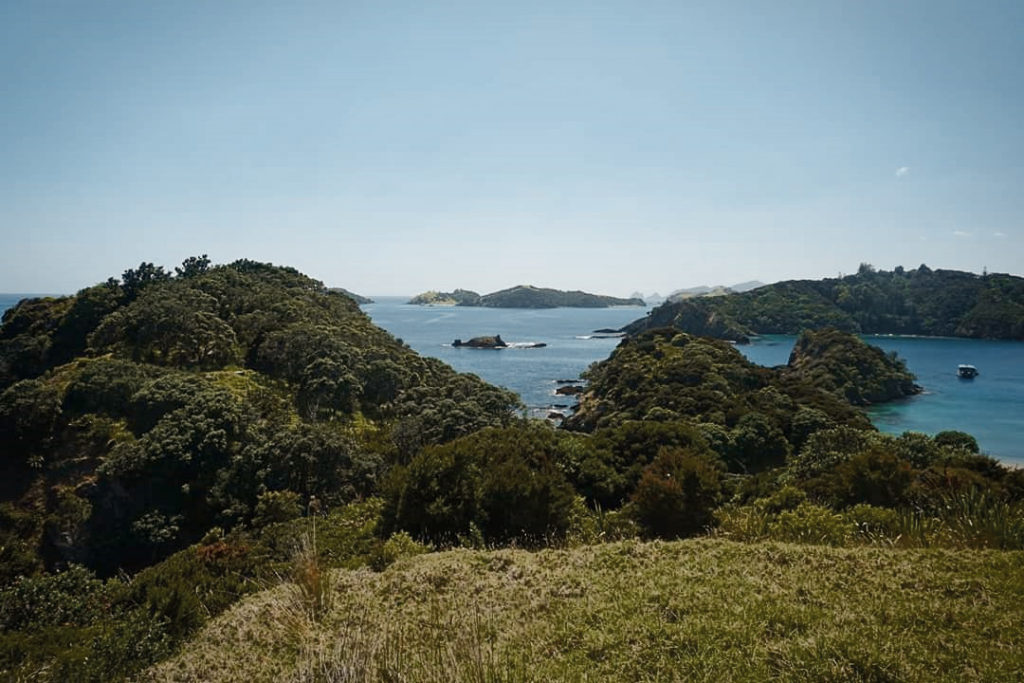 Island hopping with The Rock Adventure Cruise in the Bay of Islands, New Zealand