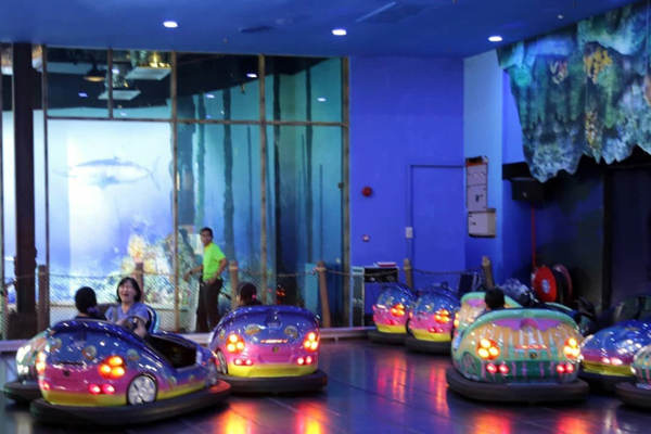 Jelly Bump Bumper Cars At KOMTAR Penang