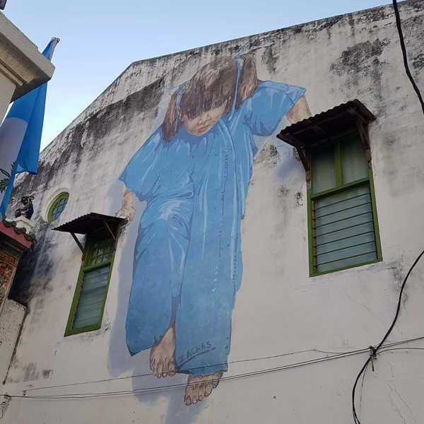 Kung Fu Girl By Ernest Zacharevic