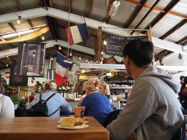 La Cigale French Market cafe in Auckland