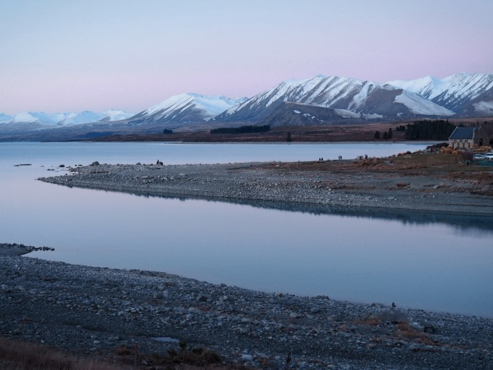 Lake Tekapo at sunset - - One of the highlights in our 1 month self-drive trip around New Zealand during winter. More on www.travelswithsun.com