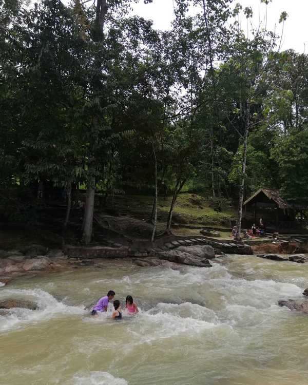Lubuk Timah Waterfall & Hotspring