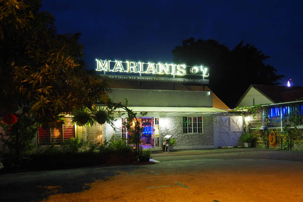 Marianis@7 Exterior at night