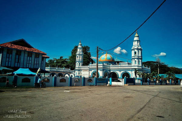 Masjid Panglima in Ipoh (Blue Mosque)