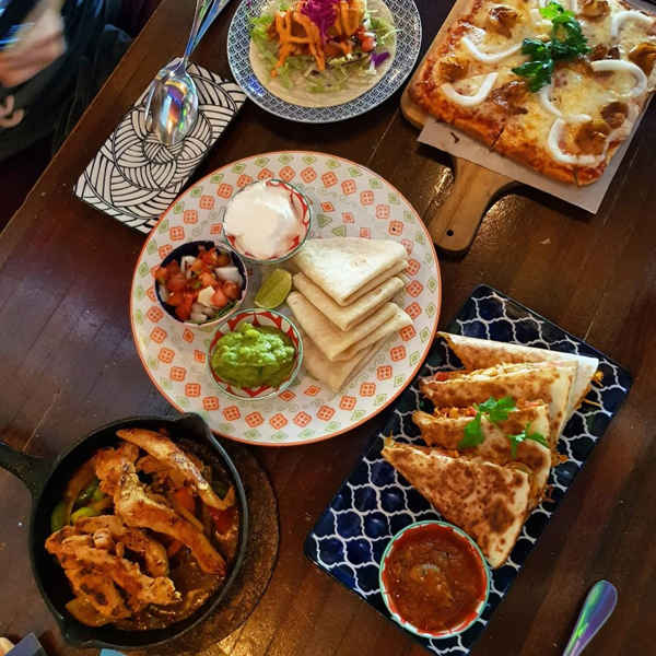 Mexican Dishes At Holy Guacamole On Love Lane, Penang