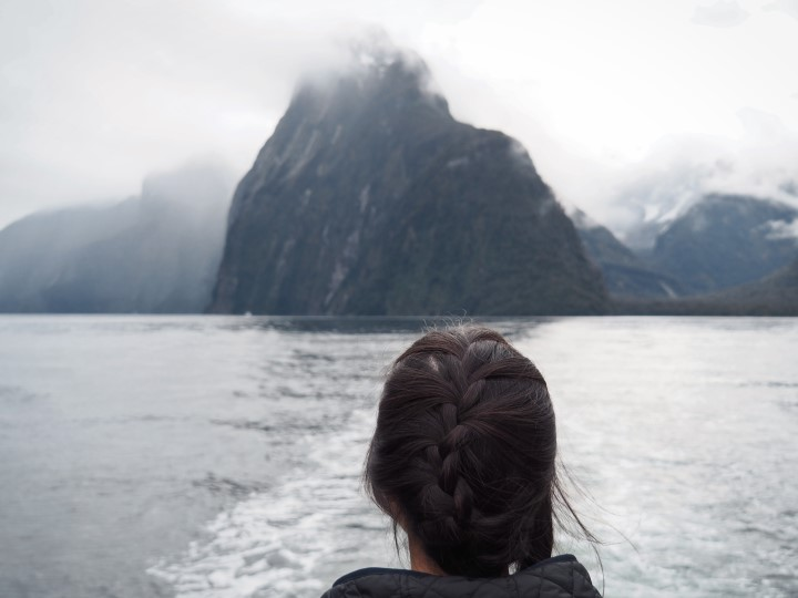 Milford Sound cruise- One of the highlights in our 1 month self-drive trip around New Zealand during winter. More on www.travelswithsun.com