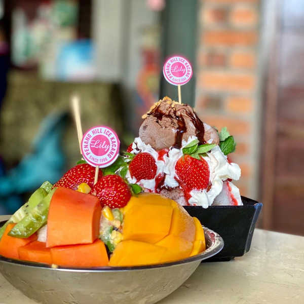 Mixed Fruit And Shaved Ice Desserts By Lily Penang Hill Ice Kacang