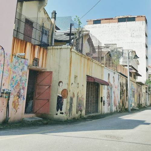 Mural Art Lane Ipoh - photo credits to nnazirah (Instagram)