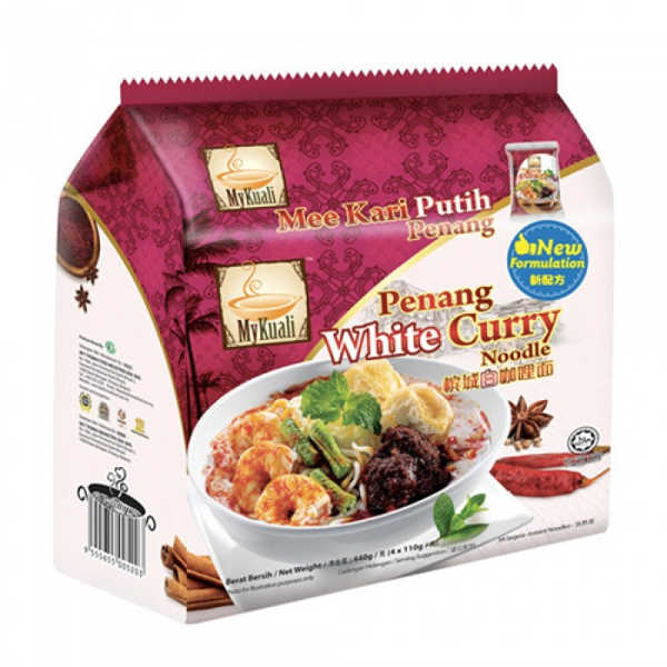 Mykuali Penang White Curry Instant Noodles