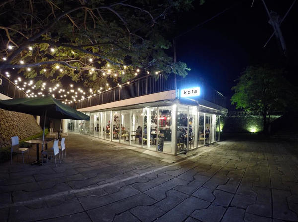 Night View Of Kota Dine & Coffee - When Francis Meets Rempah