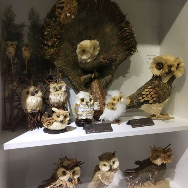 Owl Figurines At The Owl Musuem