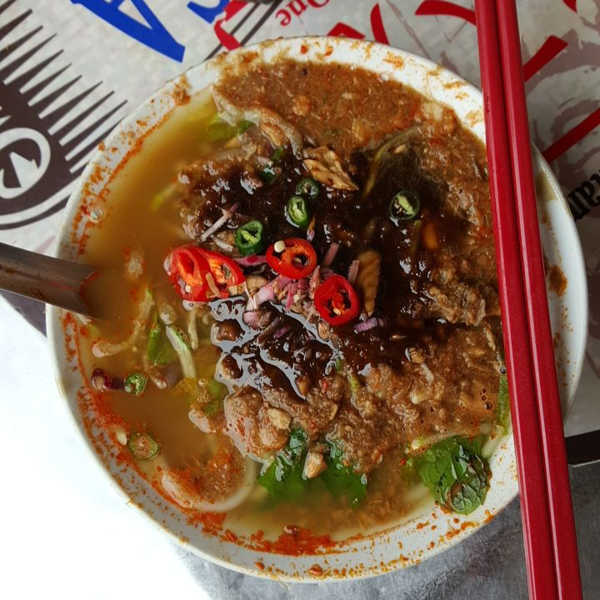 Another Good Food In Penang - Penang Air Itam Laksa