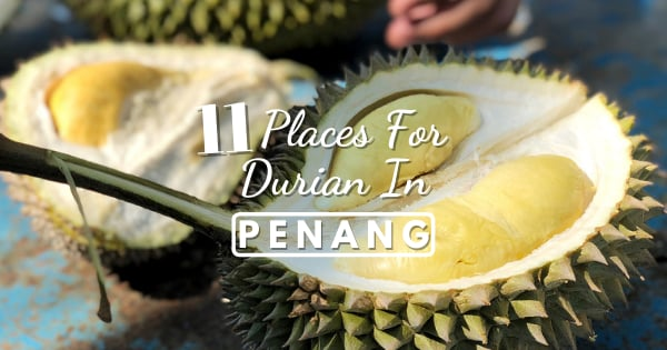 Penang Durian Farm & Where To Eat Durian In Penang