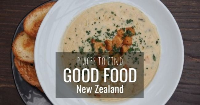 Places to find good food in New Zealand - more on www.travelswithsun.com