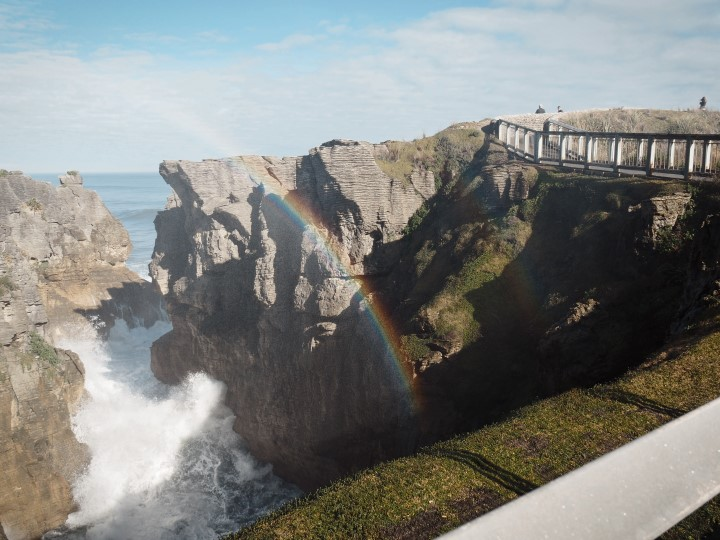 Punakaiki pancake rocks and blowholes - - One of the highlights in our 1 month self-drive trip around New Zealand during winter. More on www.travelswithsun.com