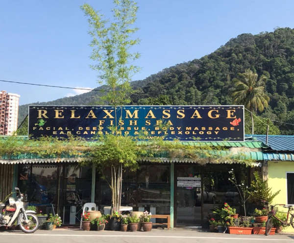 Relax Massage And Fish Spa