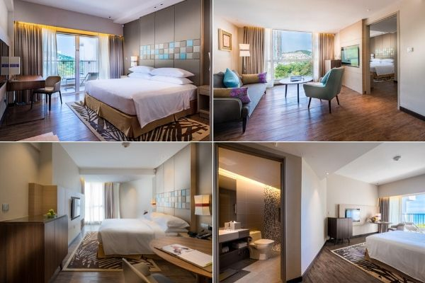 Rooms At DoubleTree Resort By Hilton Hotel Penang