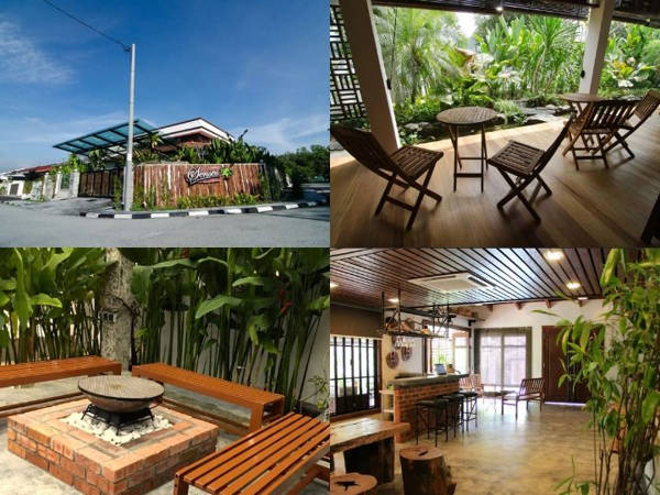 Shared spaces at Ipoh Senses Homestay