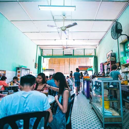 Sin Yoon Loong White Coffee Shop in Ipoh
