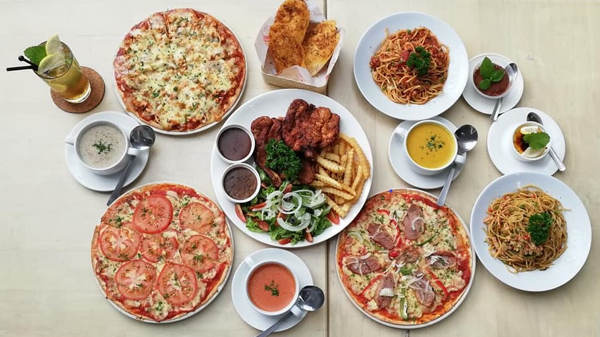 Some Of The Menu Items At Pizzarella Cameron Highlands