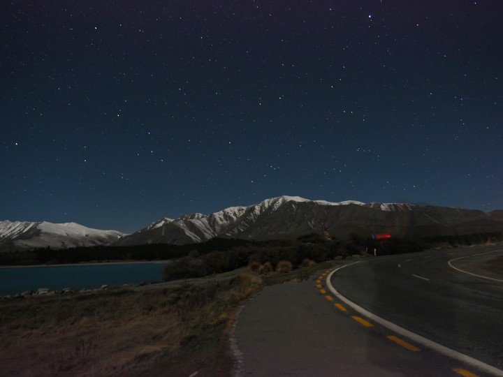 Stargazing at Lake Tekapo - One of the highlights in our 1 month self-drive trip around New Zealand during winter. More on www.travelswithsun.com